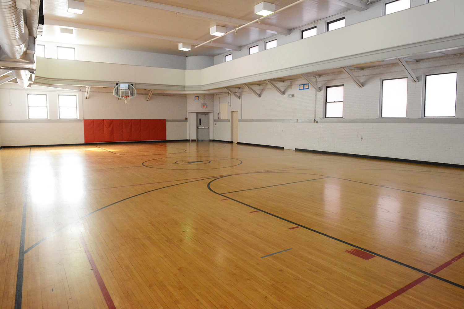 Gym at the Atchison Family YMCA