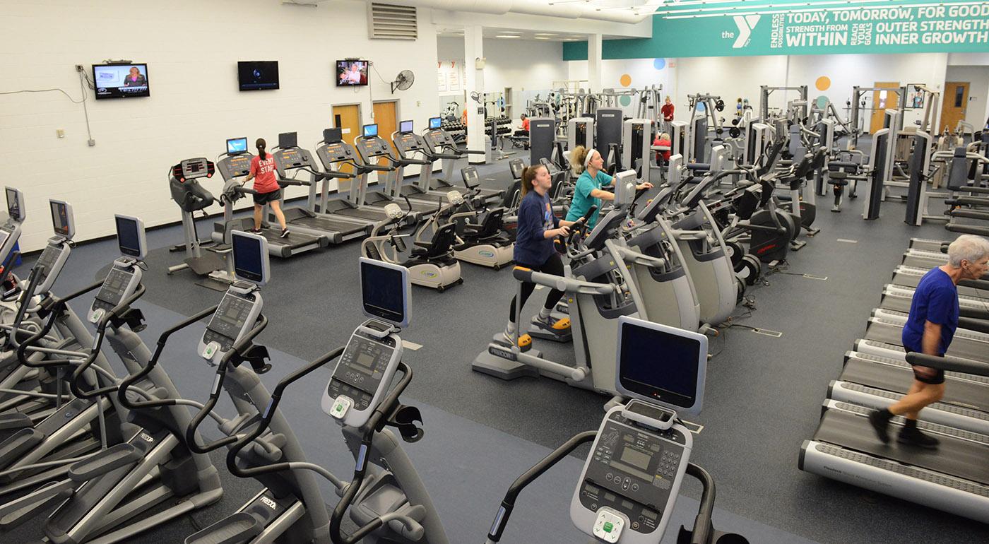 Wellness Floor at the Bonner Springs Family YMCA