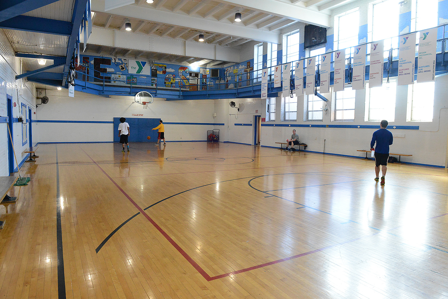Gym at the 8th Street Family YMCA