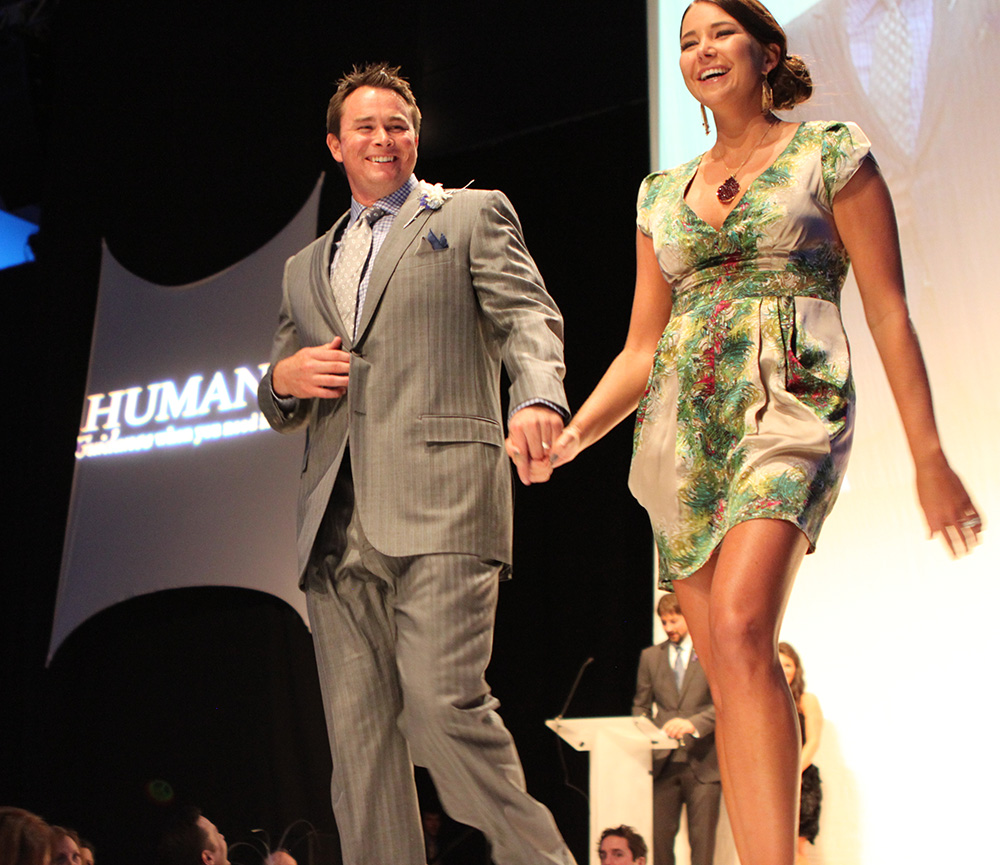 Mark and Lauren Teahen from 2011 Challenge Your Fashion Event Small