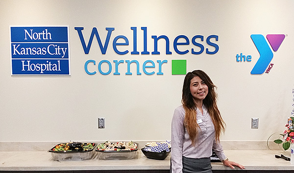 North Kansas City Hospital Wellness Corner at the North Kansas City YMCA