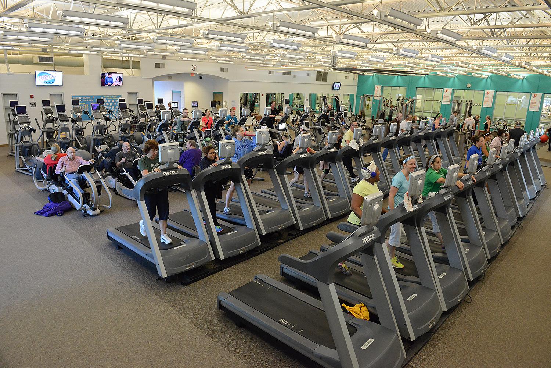 Wellness Floor at the Olathe Family YMCA
