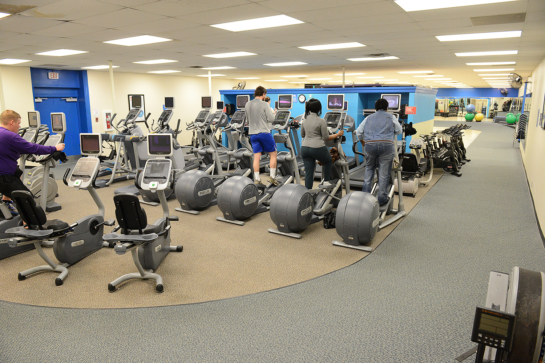 Wellness Floor at the Paul Henson Family YMCA