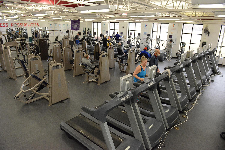 Wellness Floor at the Red Bridge Family YMCA