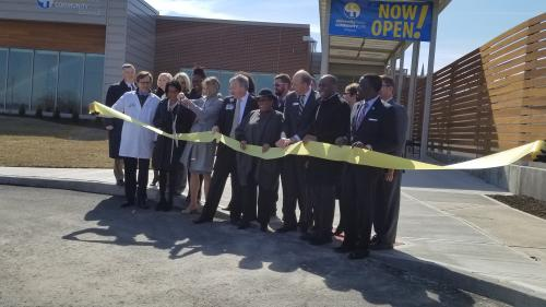 Linwood Clinic Ribbon Cutting