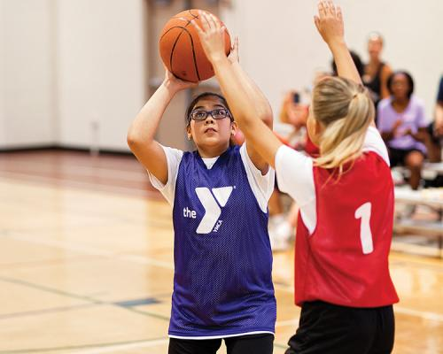 Youth Basketball at the YMCA of Greater Kansas City