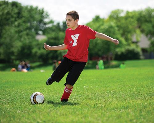Youth Soccer at the YMCA of Greater Kansas City